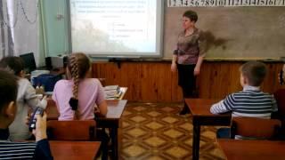 Урок окружающего  мира, 3 класс.