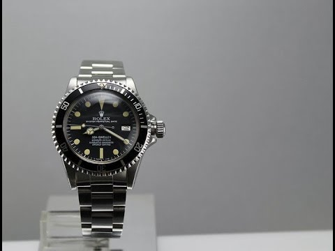 Story of an Icon: Rolex Sea-Dweller History