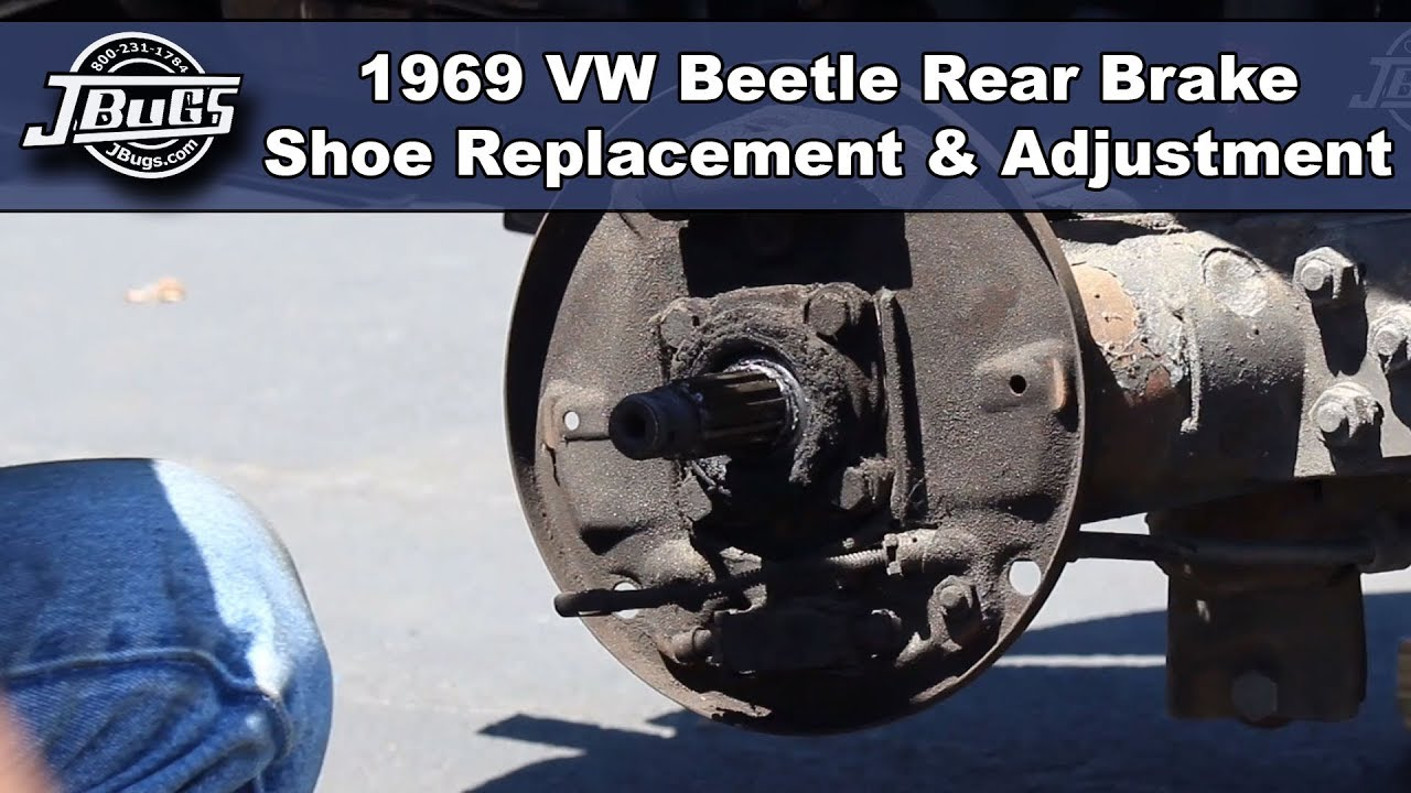 VW Volkswagen Rear Brake Drum Hardware Kit Bug Super Beetle Ghia Thing 1965-79
