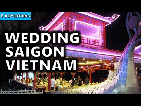 Saigon: Water Park Wedding, Ben Than Market, Vietnam Vlog Ep5