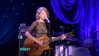Taylor Swift Mine Ellen Degeneres Show 11 01 10
