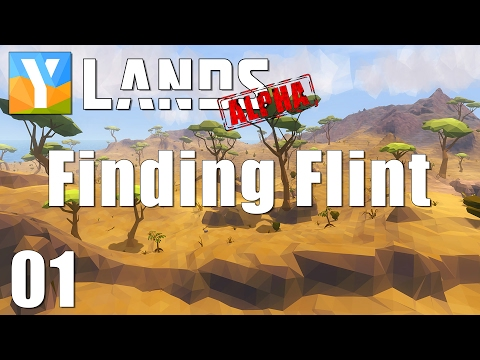FINDING FLINT | YLands EARLY ACCESS | Episode 01