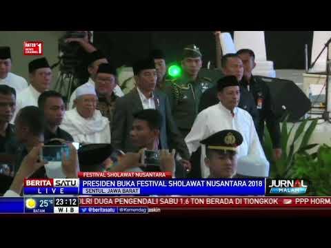 Jokowi Buka Festival Shalawat Nusantara