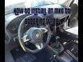 How to Install an MK6 GTI steering wheel on an MK4 GTI/Jetta DIY S4 EP14