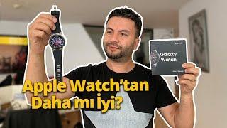 Apple Watch'u kıskandıracak Samsung Galaxy Watch kutusundan çıkıyor!
