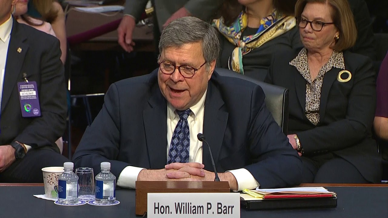 Watch Barr Said He Wouldn T Fire Robert Mueller Without