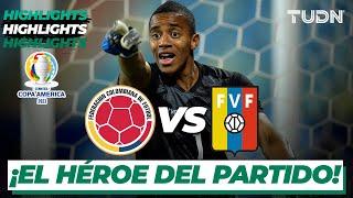 Highlights   Colombia vs Venezuela   Copa América 2021   Grupo A-J2   TUDN