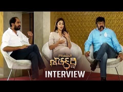 Gautamiputra Satakarni Team Special Interview    Balakrishna   Shriya Saran   Krish   TFPC