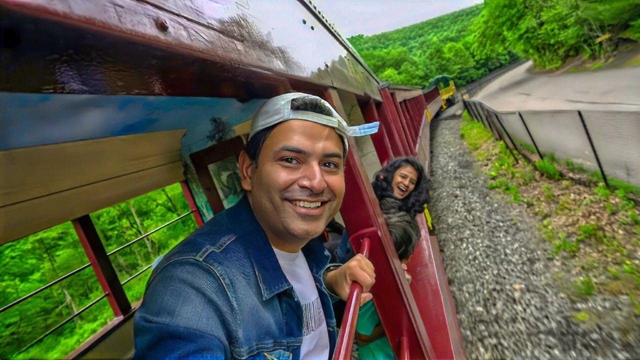 America ki Waadiyo mein Railgaadi ki Sair - Pocono Region Pennsylvania