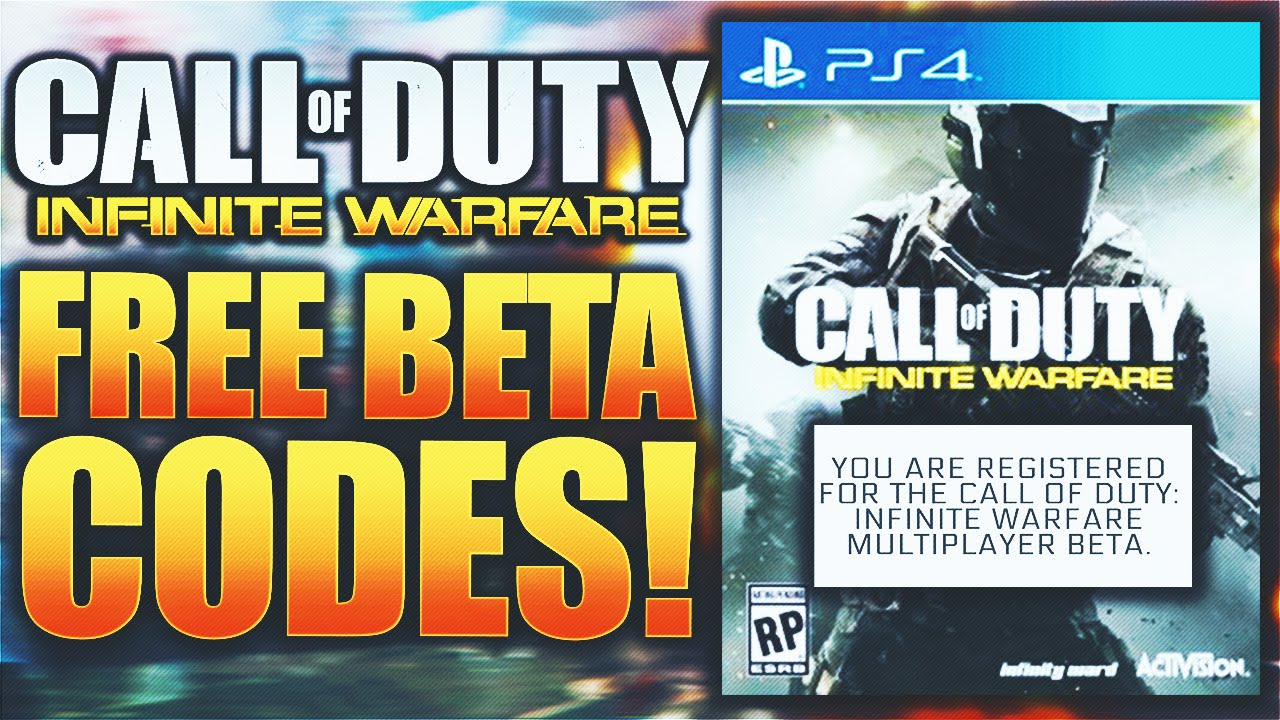 call of duty infinite warfare free codes