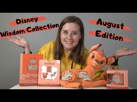 August Disney Wisdom Collection Full Review and Vlog Adventure