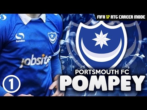 FIFA 17 Career Mode RTG: Portsmouth S1 Ep1 - THE REBUILD BEGINS!!