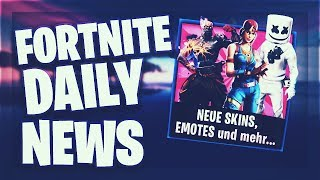 Fortnite Daily News *NEW* SKINS, EMOTES (PRISONER SKIN, MARSHMELLO, RHINO) (29 January 2019)