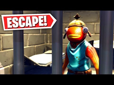 This Fortnite PRISON ESCAPE PARKOUR almost made him RAGE QUIT! (Fortnite Creative Mode) thumbnail
