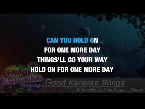 Hold On - Wishbone Ash ( Karaoke Lyrics )