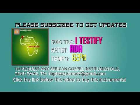 I Testify by Ada Instrumental