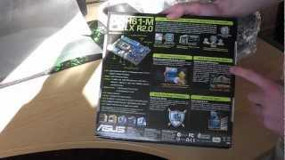 Asus P8H61-M LX R2.0 S1155 Intel H61 DDR3 mATX - Unboxing Video