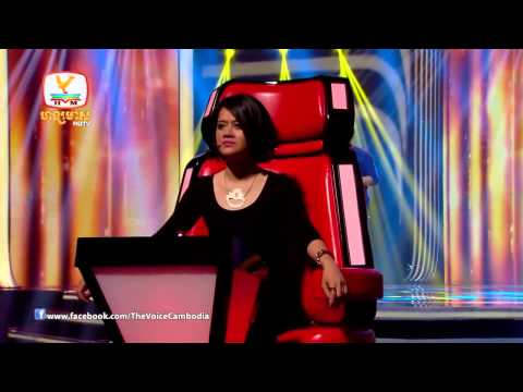 The Voice Cambodia 2014 Blind Audition | Sok Marin - Chir Chir Chir