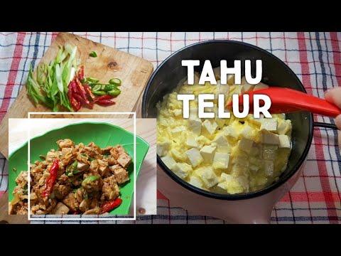 tahu-telur- -resep-gampang-masak-tahu-telur-pakai-panci-listrik- -tips-masak-anak-kost