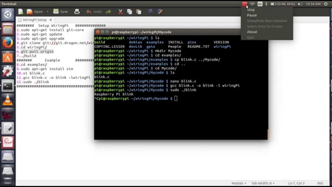 Installing WiringPi GPIO Library In Raspberry Pi 2