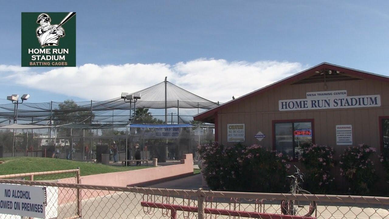 Home Run Stadium Batting Cages