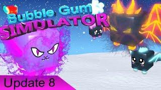 Roblox BubbleGum Simulator!🐺New Year's Event UPDATE!🦊!