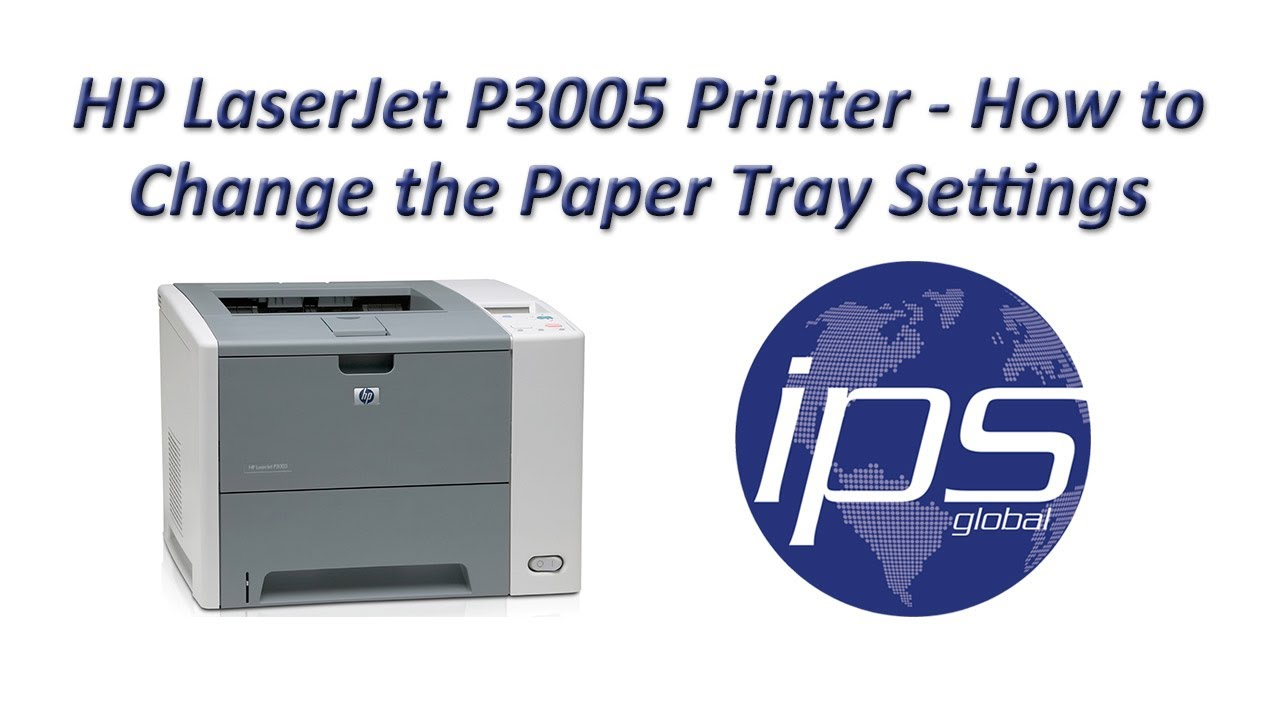hp laserjet p3005 printer drivers