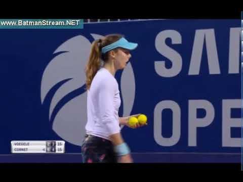 Voegele - Cornet WTA Lugano live stream youtube