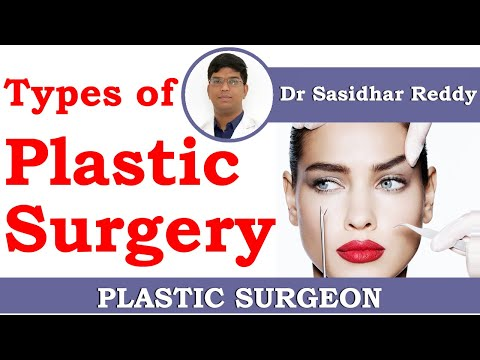 Plastic Surgery Facts on Procedure Types | Top plastic surgeons | Dr Sasidhar Reddy Plastic Surgeon