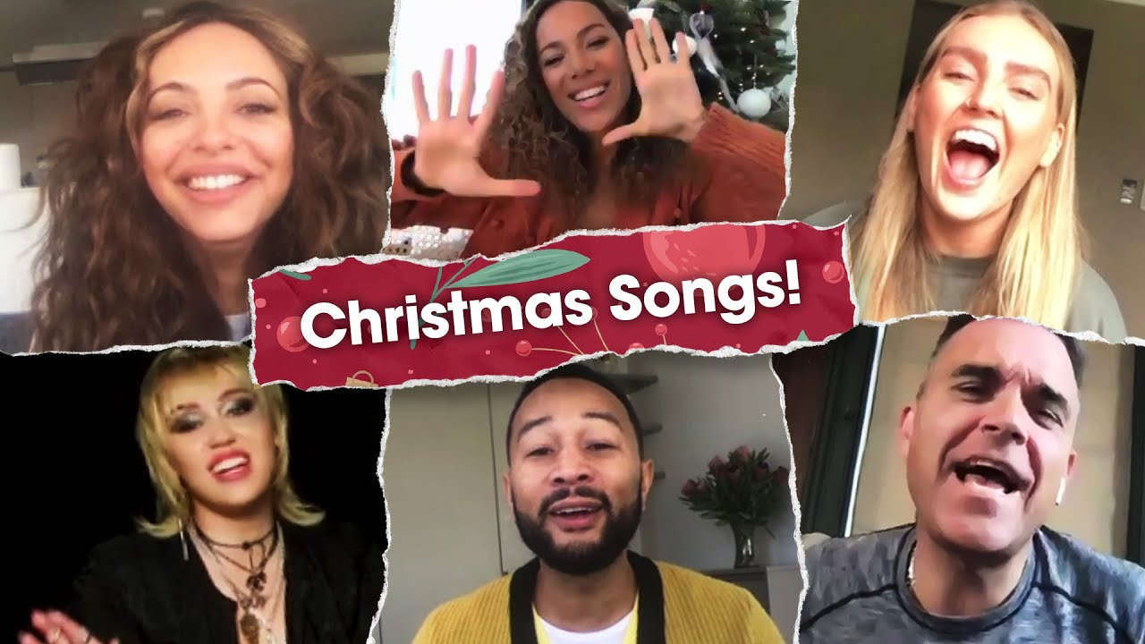 Little Mix, Miley Cyrus and MORE sing Christmas songs! | Heart