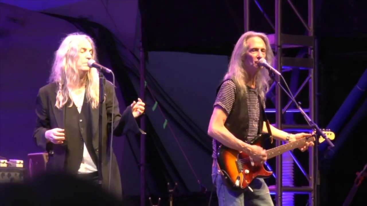 Patti Smith And Her Band Full Show July 20 2016 Nyc Youtube