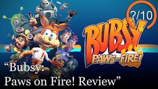 Bubsy: Paws on Fire! Review [PS4, Switch, & PC] (Video Game Video Review)