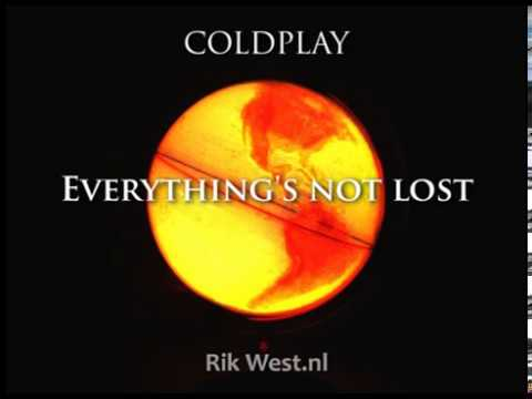 Coldplay - Everything's not lost (karaoke)