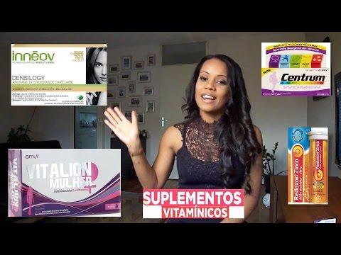 Meus Suplementos Vitamínicos: Centrum Mulher, Innéov, Vitalion Mulher, Redoxon Zinco