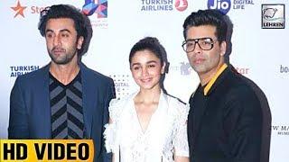 Alia Bhatt, Ranbir Kapoor & Karan Johar At Jio MAMI Film Festival | LehrenTV