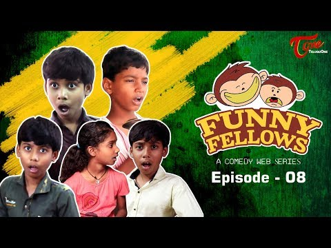 FUNNY FELLOWS   Kids Comedy Skits   Part #8   By Lavanya Alvala   #TeluguComedy