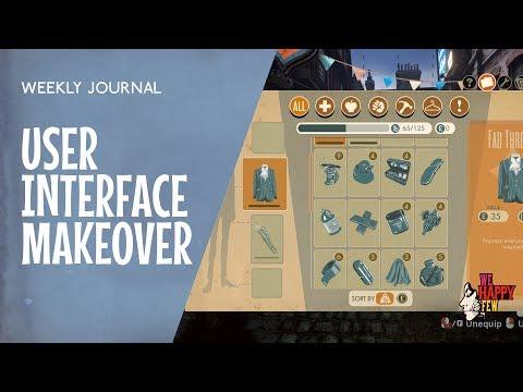 Art/Programming - User Interface Makeover