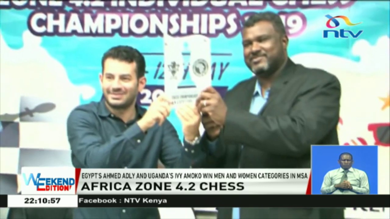 Egypt's Ahmed Adly, Uganda's Ivy Amoko book their tickets to Chess World  Cup 2019