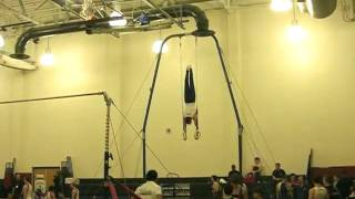 David Frankl on Rings NJ State Gymnastics Championship 2010.mpg