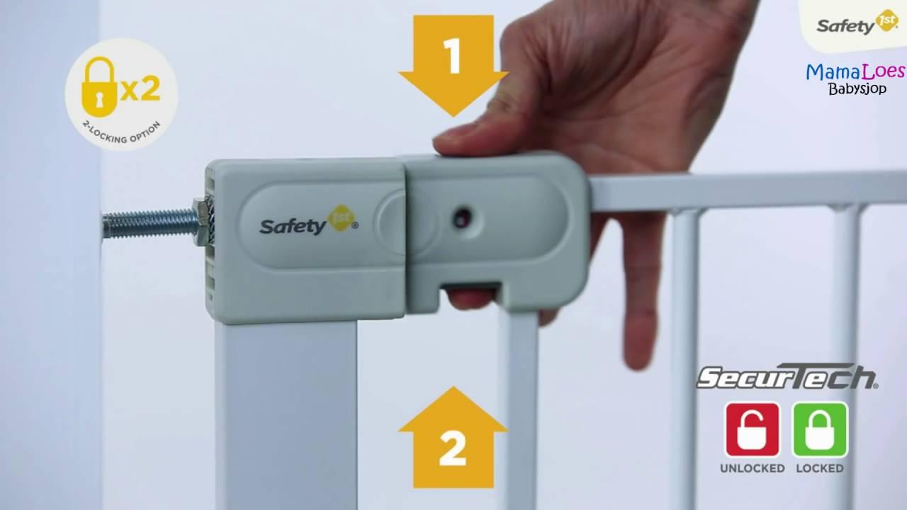 Mamaloes Babysjop Safety 1st Autoclose Klemhek Youtube