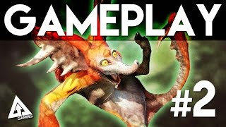 Monster Hunter 4 Ultimate Gameplay Part 2 - Capture a Kecha Wacha