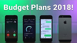 Best Budget Cell Phone Plans 2018!