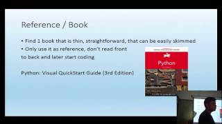 How to learn and be productive with Python3 in a week - PythonSG Meetup