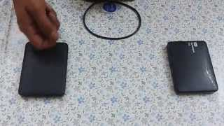 WD Elements vs WD my passport ultra 1TB external hard disks..Comparison | Indian consumer