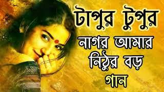 Nagor Amar Nithur Boro Lyrics Song    Tapur Tupur Serial.