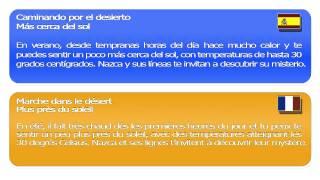 Cours d'espagnol en ligne   Marche dans le d+®sert