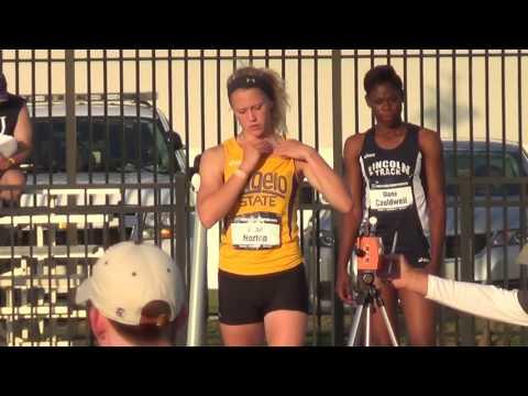2016 NCAA DII Outdoor T&F Championships  ASU Kami Norton LJ2