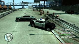 GTA 4 police pursuit mod chase 2