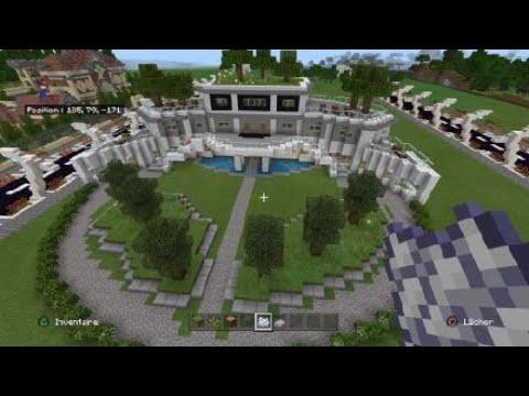 Comment construire une maison moderne sur minecraft tuto ...