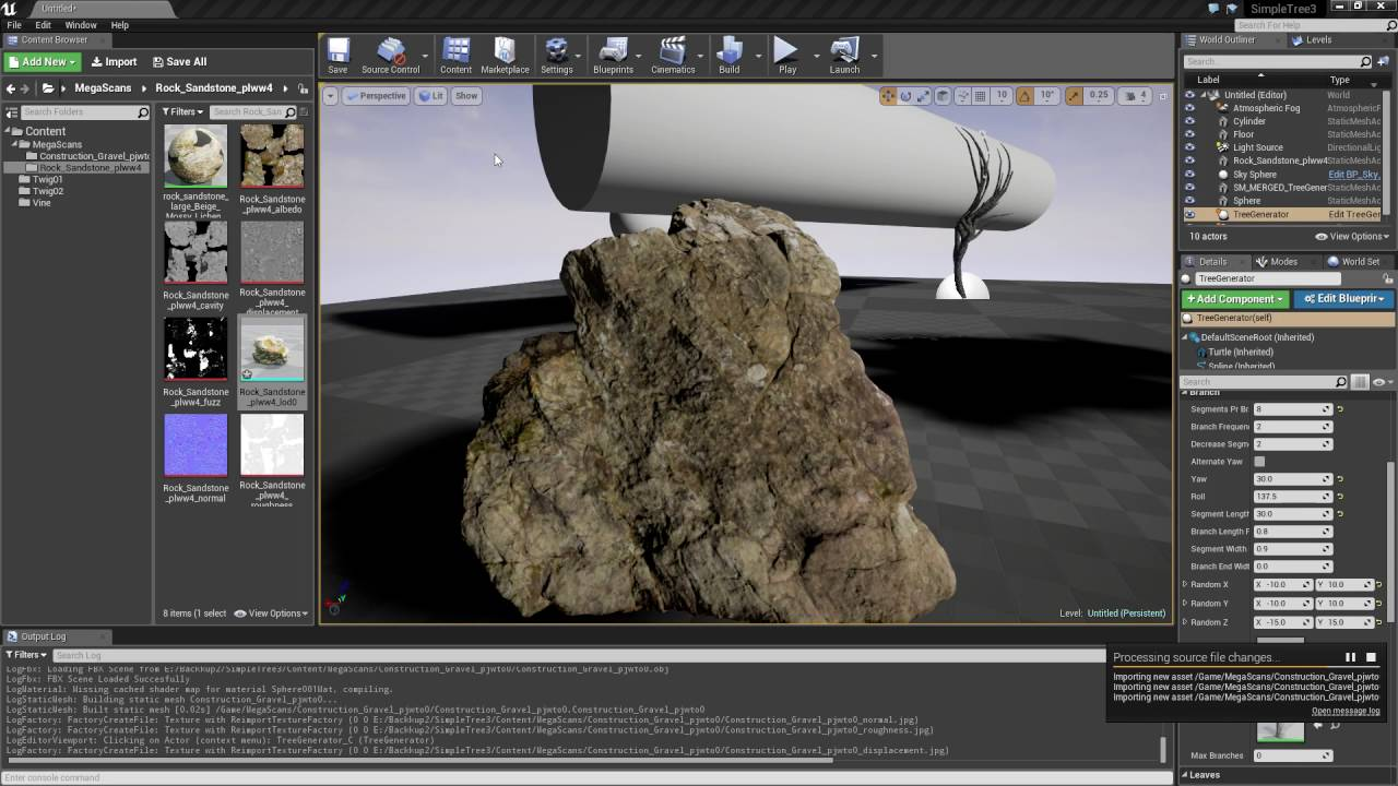 how to use quixel megascans in ue4